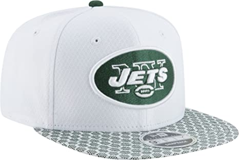 cb216d411f1 Image Unavailable. Image not available for. Color  New Era Men s New York  Jets Sideline 2017 On-Field 9Fifty Snapback Adjustable Hat (