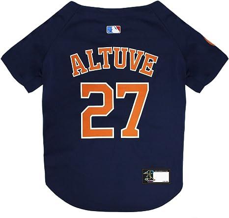#27 Jose Altuve Houston Astros Baseball Jersey Sport Mens Shirt Tops Outfits