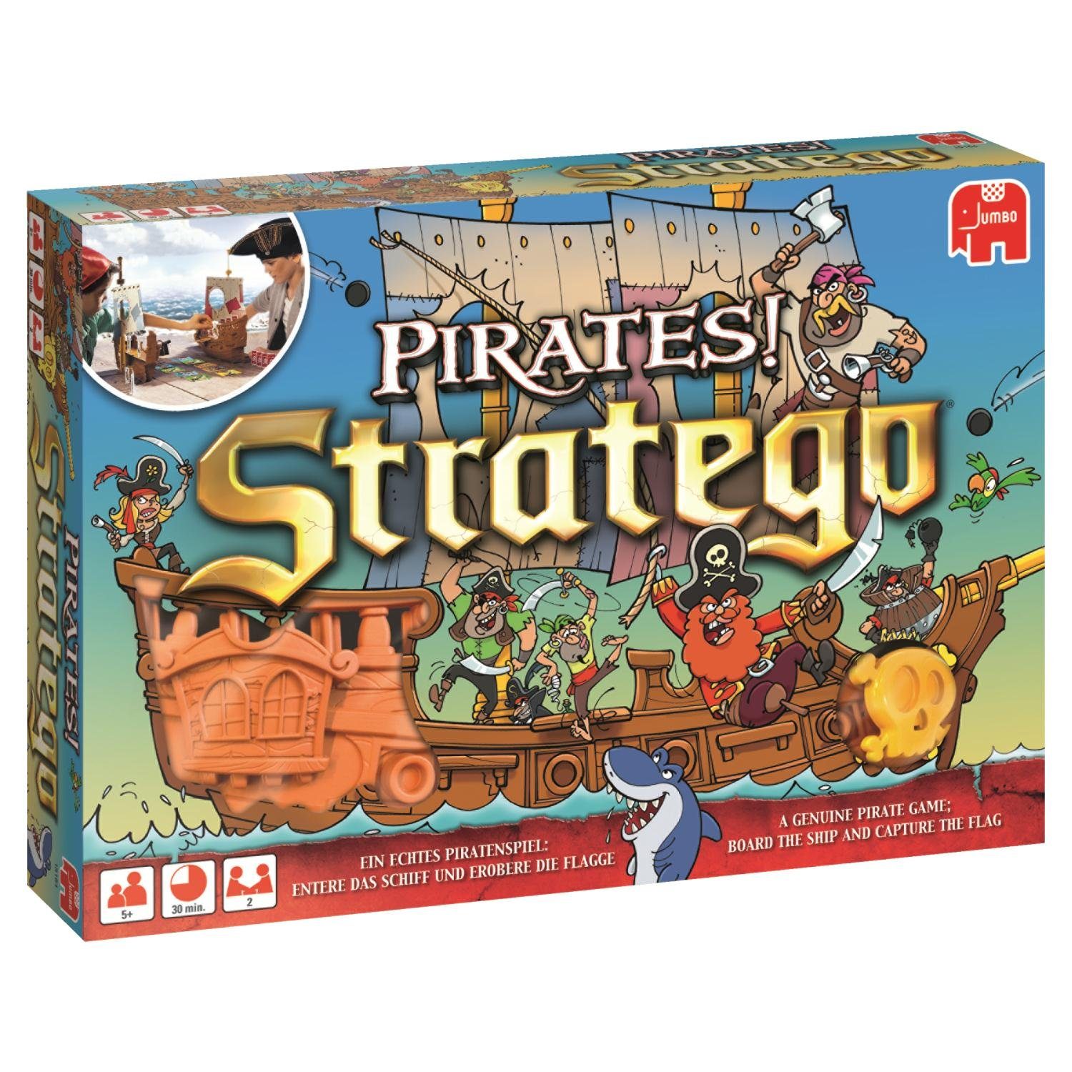 Stratego Pirates Jumbo Spiel amazon
