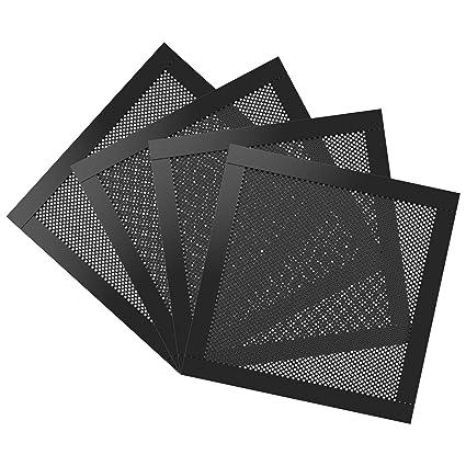 MoKo 140mm Dust Filter for Computer Cooler Fan, [4 Pack] Magnetic Frame PC  Fan Dust Mesh PC Cooler Filter Dustproof PVC Cover Computer Fan Grills -