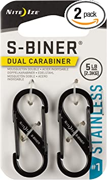 Nite Ize Size-1 S-Biner - The Best Carabiners For Domestic Use