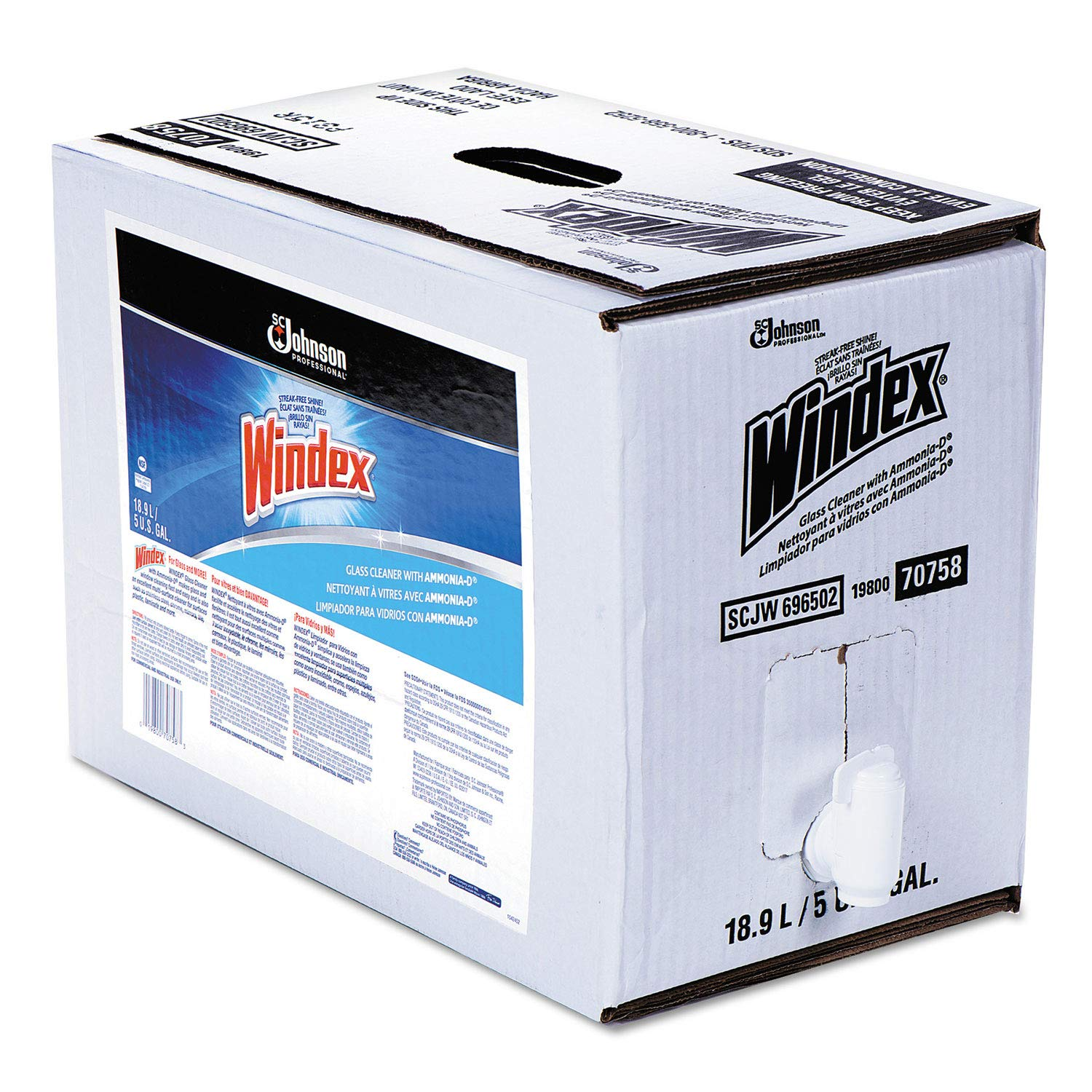 Windex® Glass Cleaner 5 Gallon