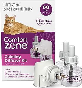 Comfort Zone Diffuser Kit for Cat Calming | Cat Calming Formula