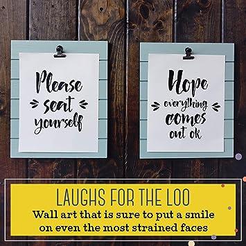 Wooden Door Wall Plaque Whatever happens just keep on smiling