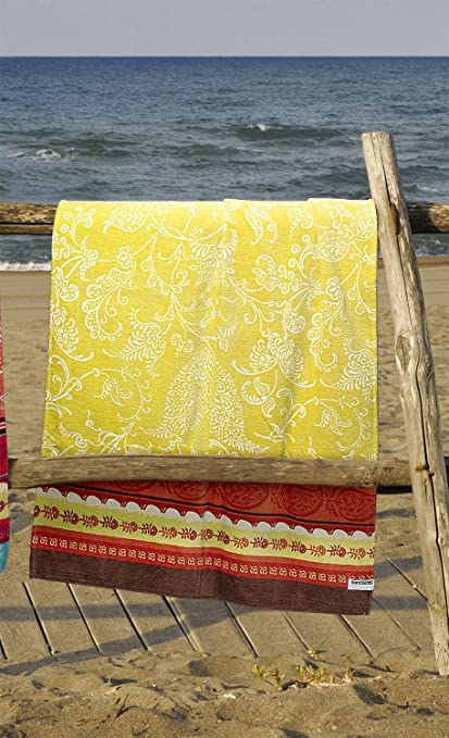 Bassetti Toalla de playa Portofino V1, 90 x 180 cm, Multi, 100 %
