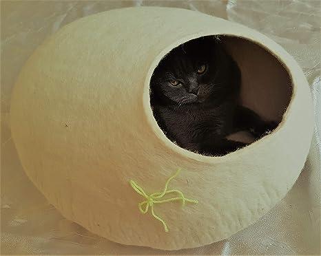 Amazon.com: Kivikis - Cama de gato, casa, cueva, mono de ...