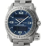 Breitling Emergency quartz mens Watch E76321 (Certified Pre-owned)