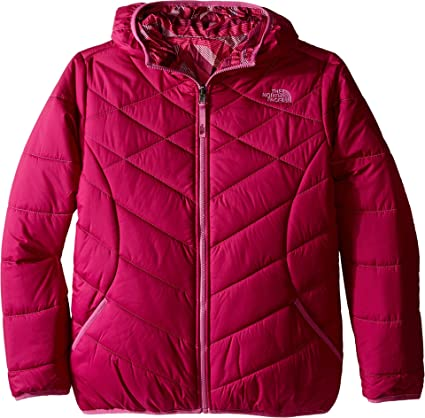0464c3a25895 The North Face Kids Girl s Reversible Perrito Jacket (Little Kids Big Kids)  Roxbury