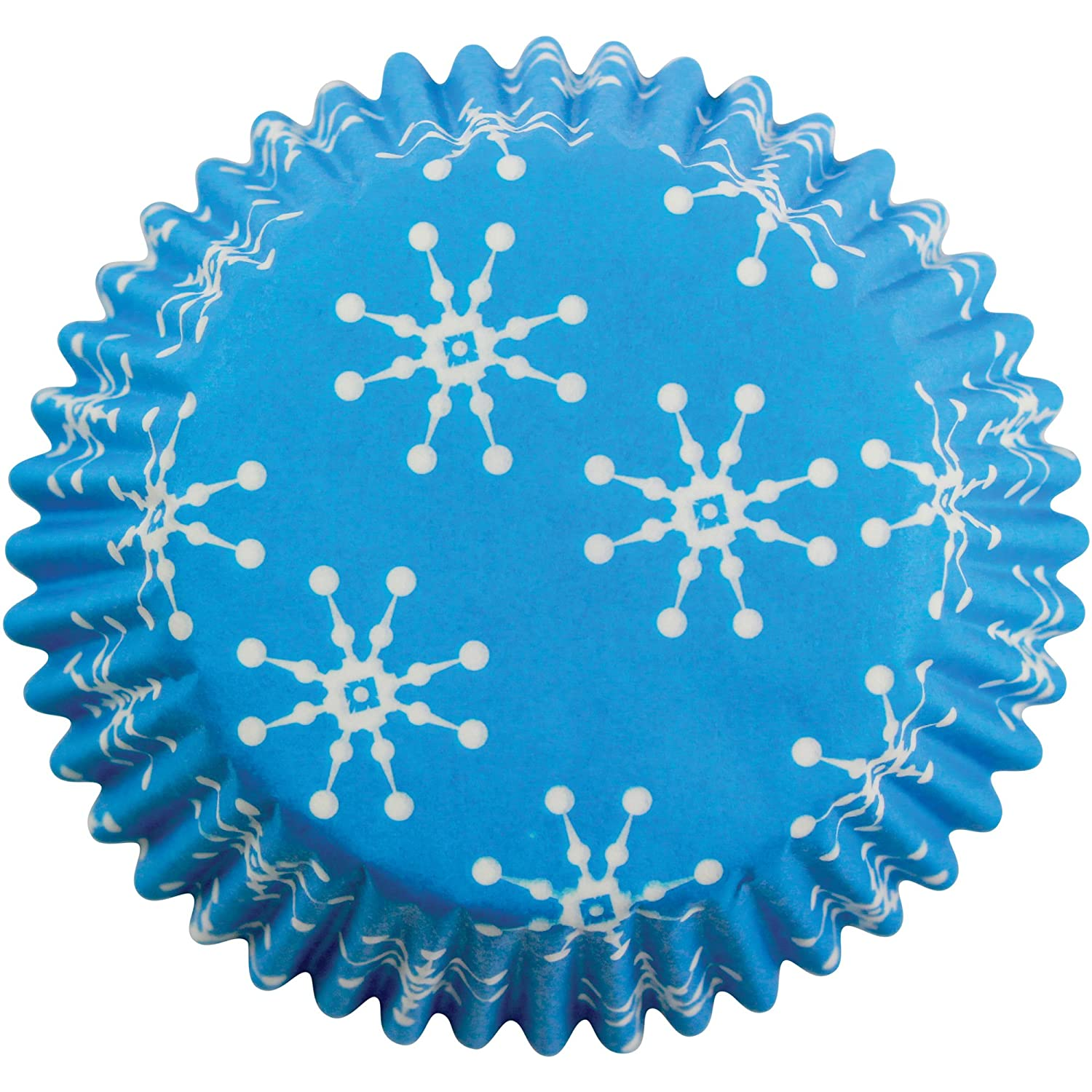 PME Snowflakes Paper Baking Cases for Cupcakes, Mini Size, Pack of 100 Knightsbridge PME BC753