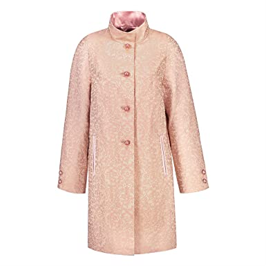 Jacquard mantel rosa