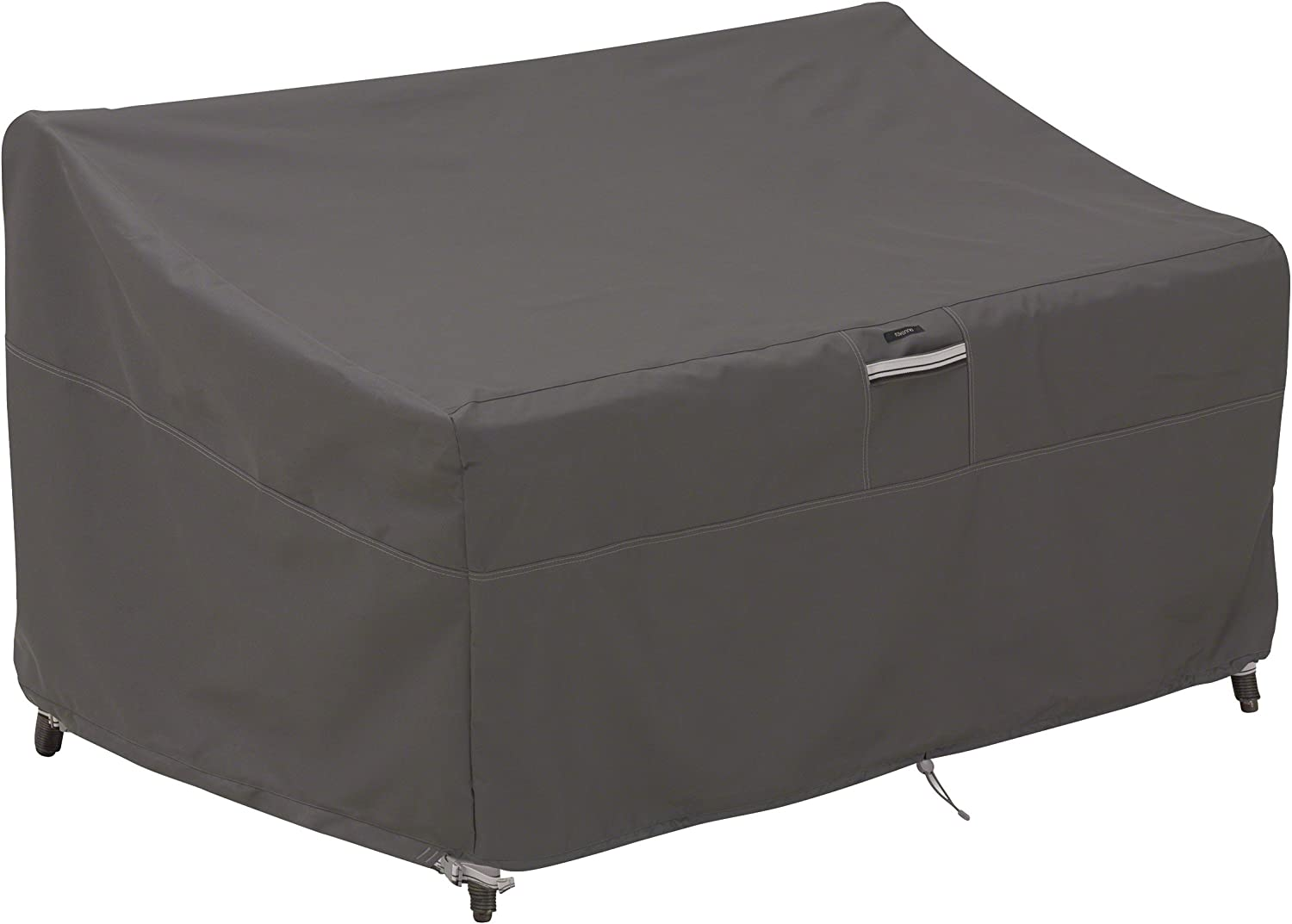 Amazon Com Classic Accessories Ravenna Water Resistant 76 Inch Deep Seated Patio Loveseat Cover Garden Outdoor