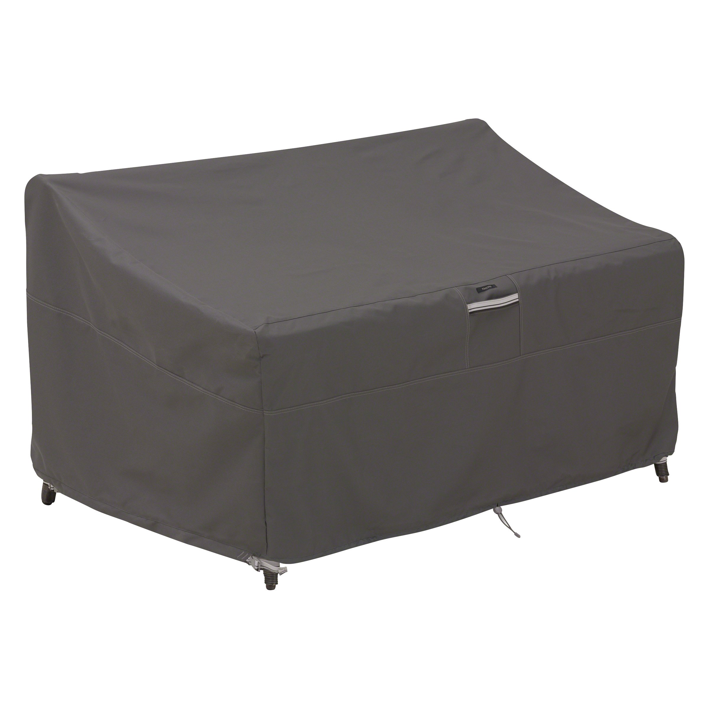 Classic Accessories Ravenna Deep Seated Patio Loveseat Cover-Premium Outdoor Furniture Cover with Durable and Water Resistant Fabric, Medium (55-423-035101-EC) product image