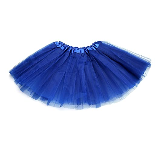 e7f07b60be779 Anleolife 12'' Girl Tutu Skirt Party Tutus Pure Color