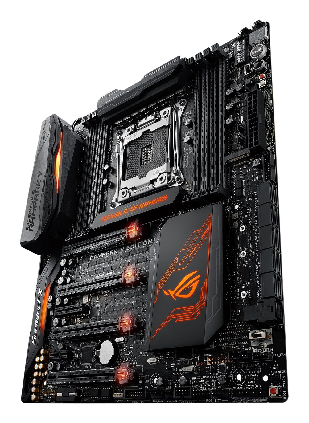 ASUSTeK R.O.G. Intel X99搭載 マザーボード