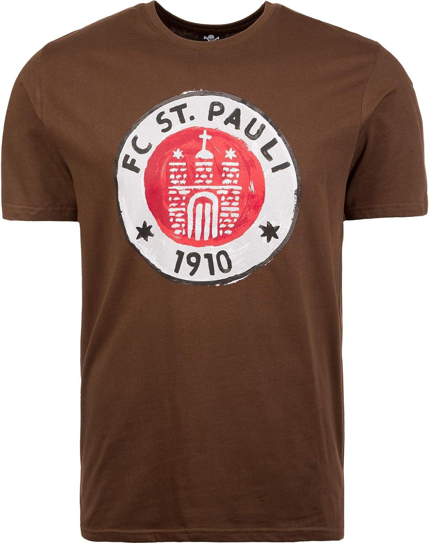 Pauli Logo Paint Marron T-shirt FC St