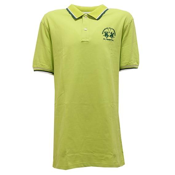 3978T polo bimbo LA MARTINA JUNIOR maglia verde lime t-shirt polo ...