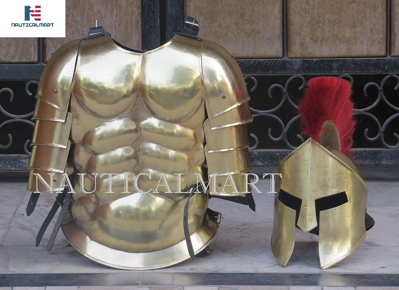 Amazon.com: Roman Greek Muscle Armor Cuirass 300 Spartan ...