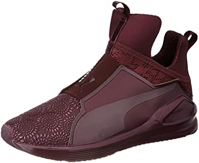 b0c837b5d2b7d5 Puma Women s Fierce Krm Winetasting-Red Plum Running Shoes-7 UK India (