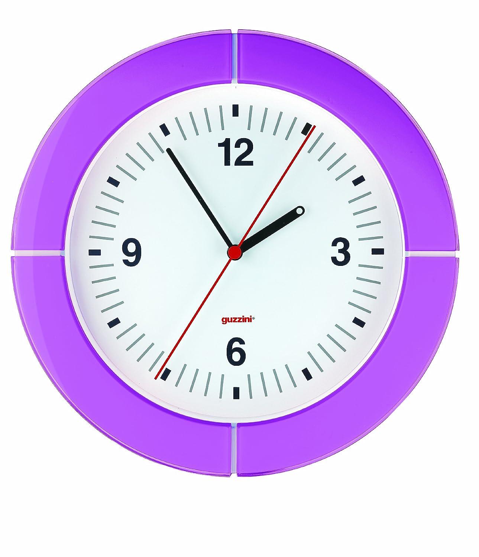 guzzini(グッチーニ) 置き時計掛け時計 バイオレット サイズ:Φ37×h4.9cm 28950001 B004DBXB4O