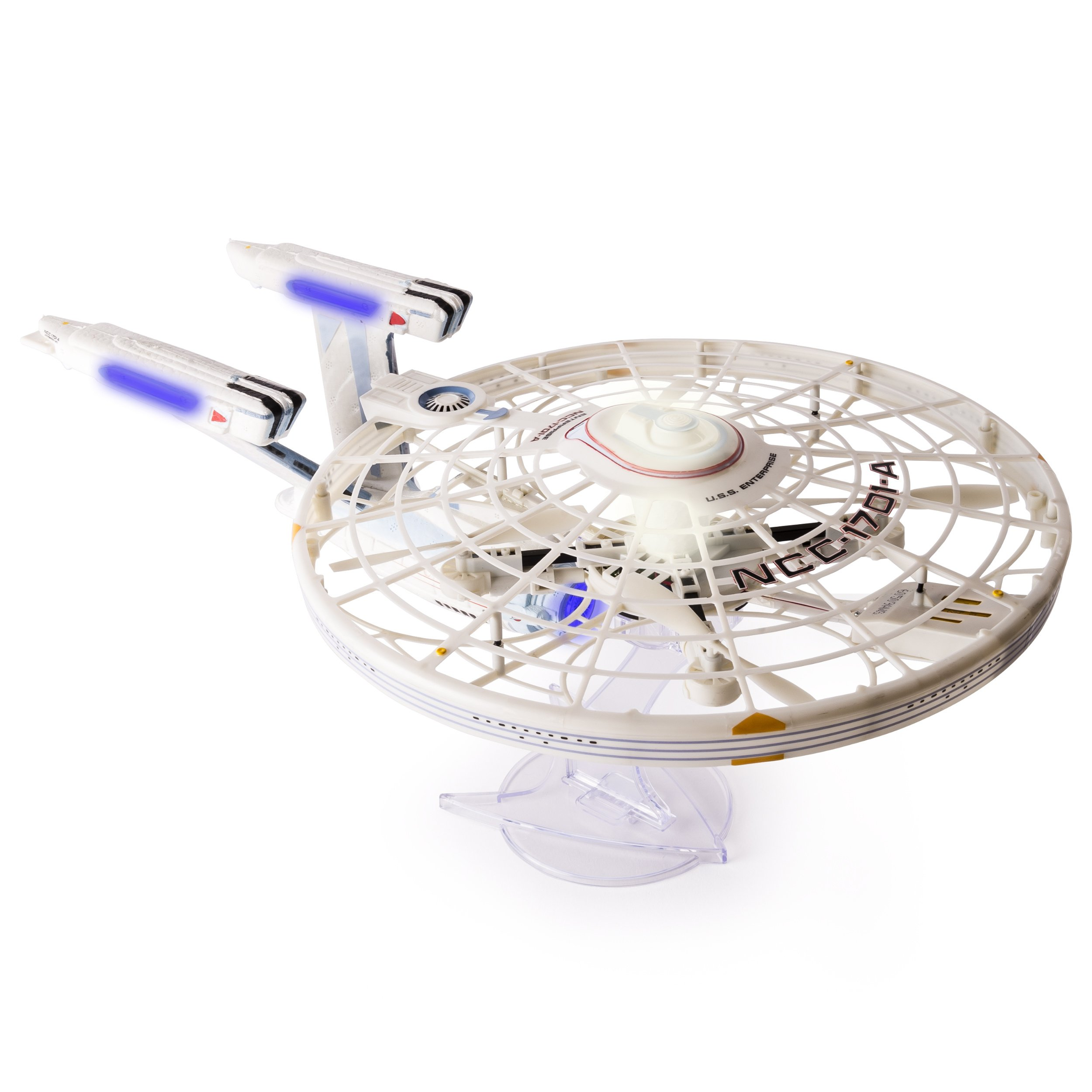 Air Hogs, Star Trek U.S.S Enterprise NCC-1701-A, Remote Control Drone with Lights and Sounds, 2.4 GHZ, 4 Channel by Air Hogs (Image #5)