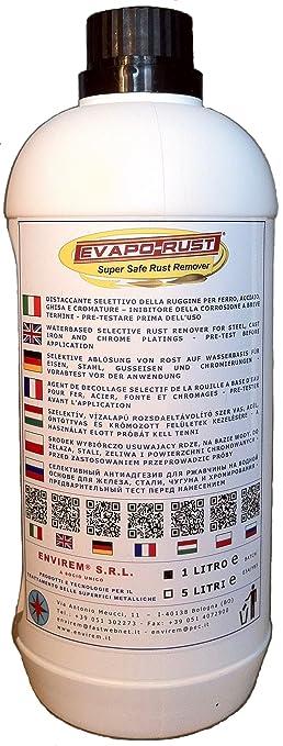 3 opinioni per EVAPO-RUST®- 1 Lt.- Distaccante selettivo della ruggine a base acqua per ferro,