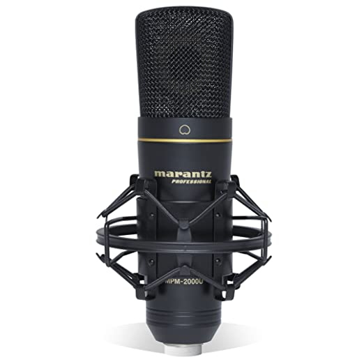 4 opinioni per Marantz Professional MPM2000U Microfono a Condensatore USB con Diaframma Largo,