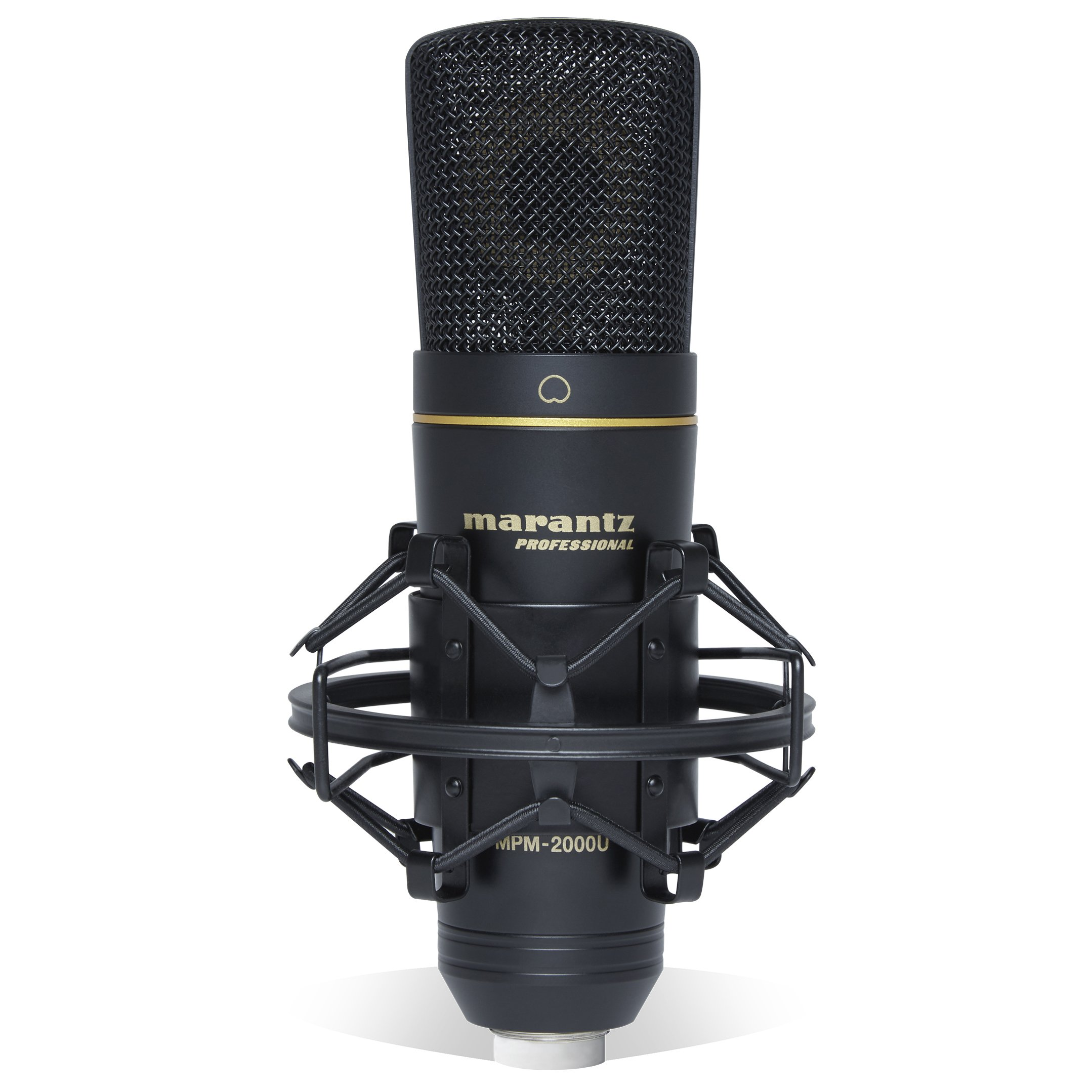Marantz Professional MPM-2000U | Studio Condenser USB Microphone with Shock Mount, USB Cable & Carry Case (USB Out) by Marantz Professional