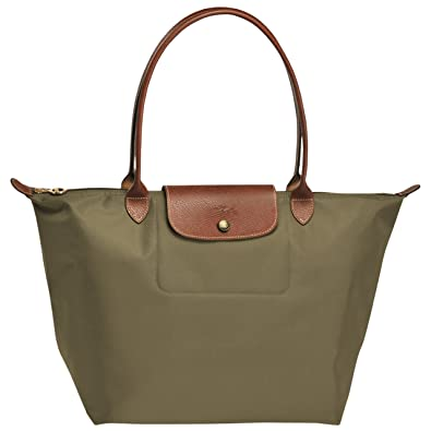 Amazon.com  LONGCHAMP LE PLIAGES LARGE TOTE BAG KHAKI  Longchamp  Shoes e50f62b080349