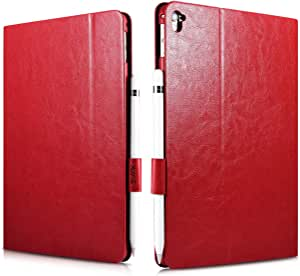 cover iPad Pro9.7 inch Knight PU Leather Book Folio Case red by xoomz