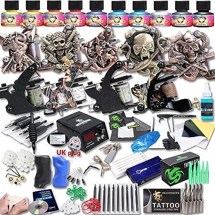 dragonhawk Upgrade Juego completo Kit de Tatuaje 9 máquinas ...