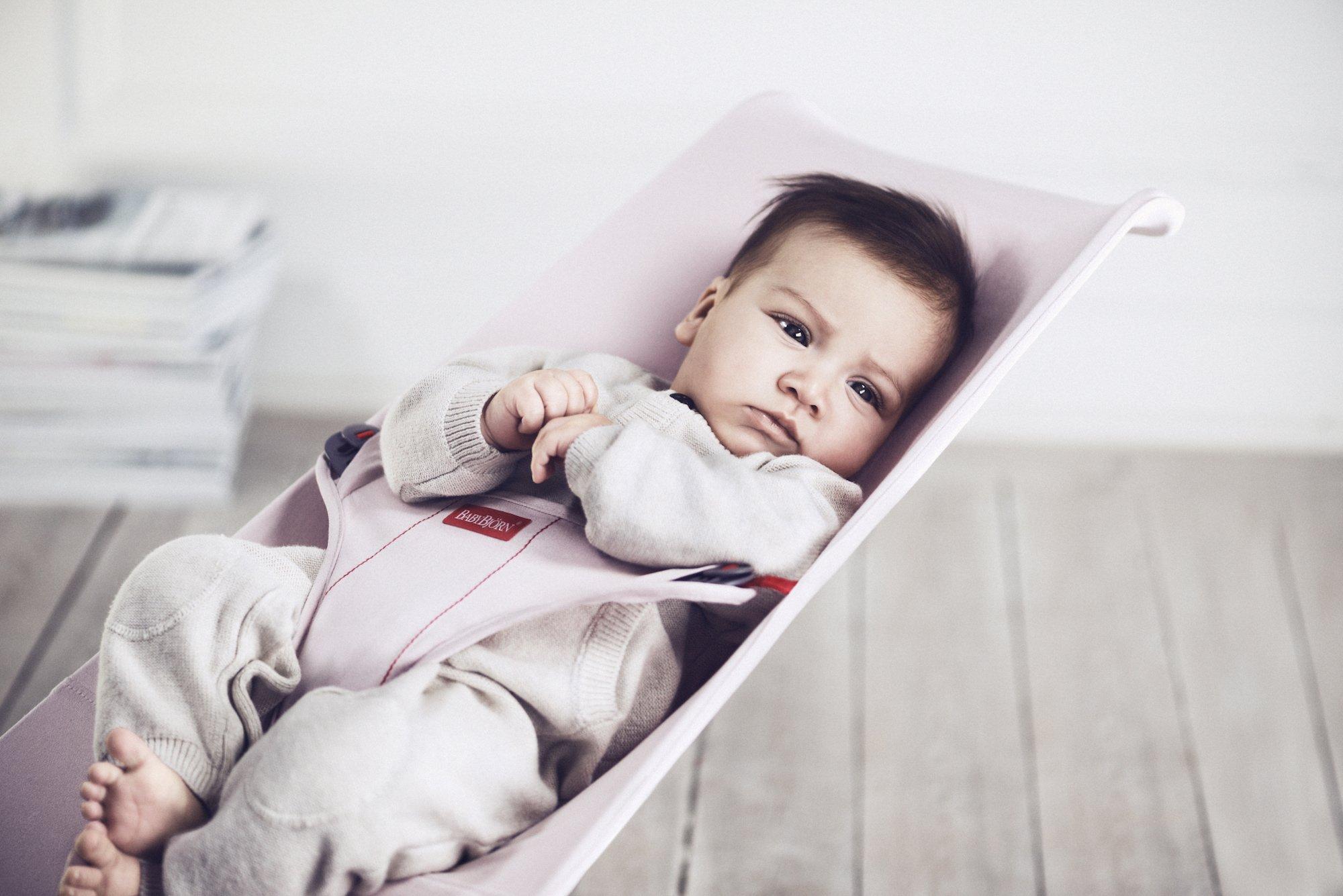 BabyBjorn Mini Cotton Bouncer, Gray/Jersey by BabyBjörn (Image #8)
