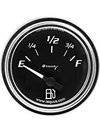 Equus 7362 Fuel Pressure Gauge - Black