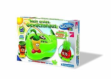 Clementoni 69931 5 Galileo Kids Mein Erstes Gewachshaus Amazon