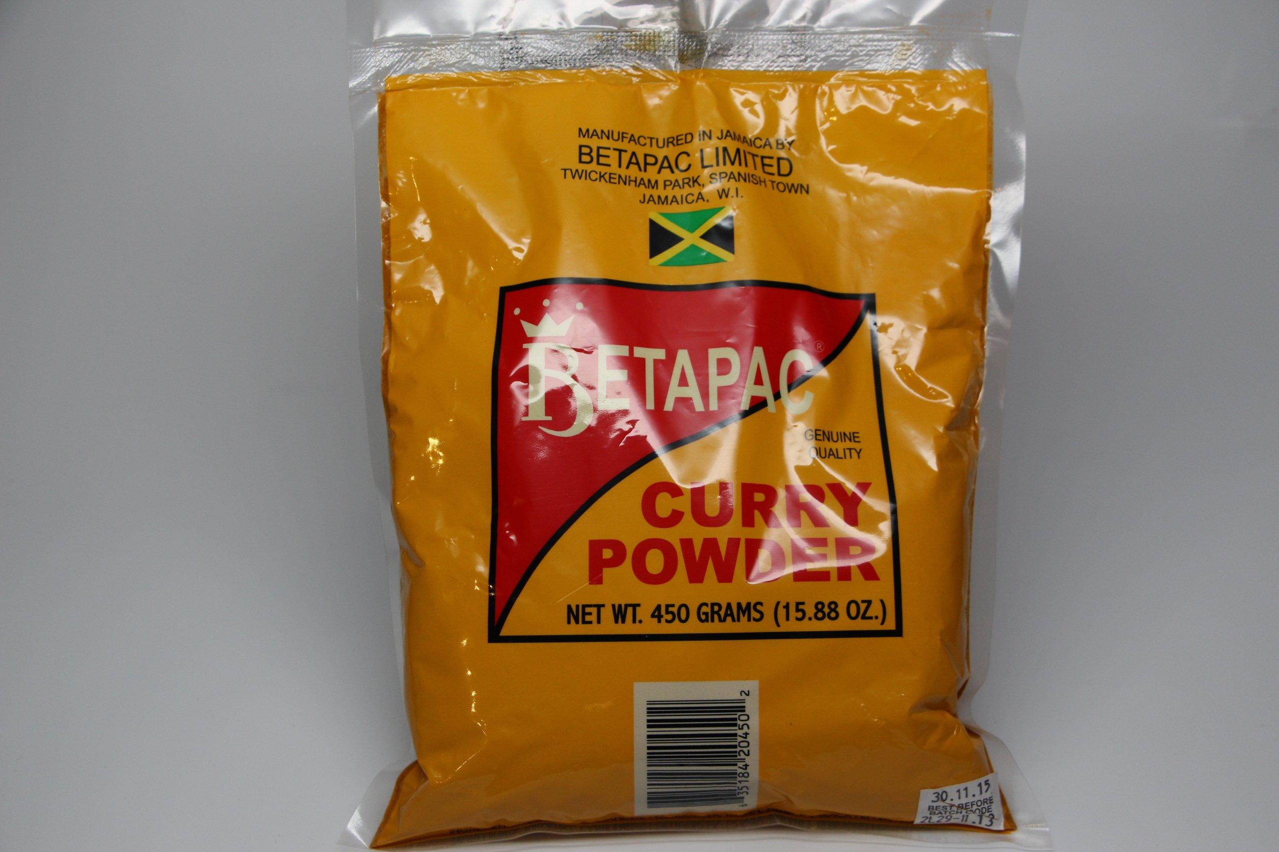 Betapac Curry Powder 450g