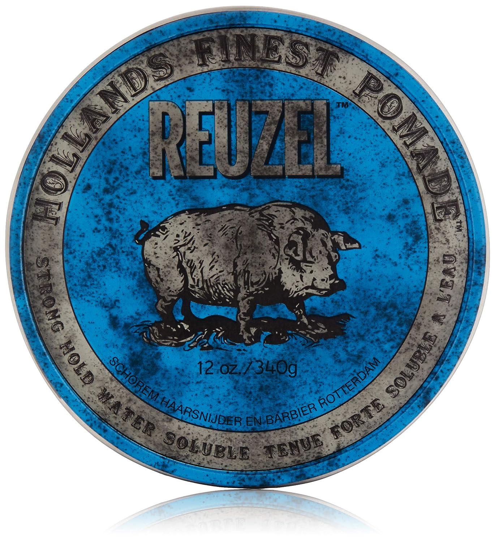 Ruzel pomada Blue fijación fuerte, alto brillo, 1 paquete (1x 340g)