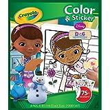 Crayola Disney Doc McStuffins Colour and Sticker Book
