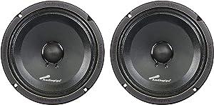 "1 Pair of AudioPipe APMB-8SB-C 8"" Full Range Car Audio DJ Sealed Back Mid"