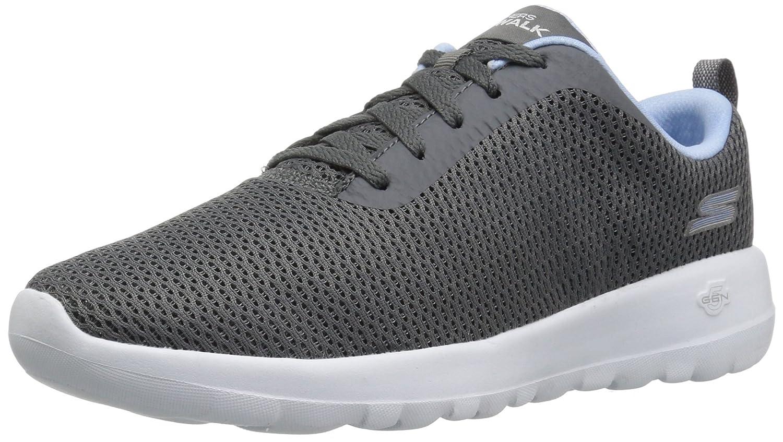 Skechers Women's Go Joy 15601 Wide Walking Shoe B071G9VWXR 11 W US|Gray/Blue