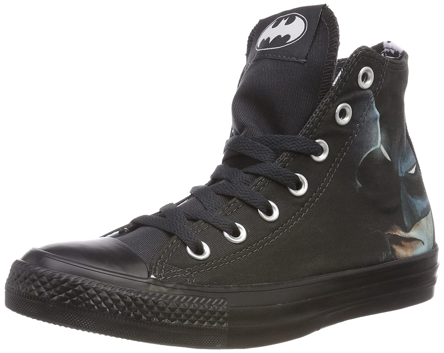 Converse DC Comics Chuck Taylor All Star Sneakers B078W27HWD Mens 12/Womens 14|Batman Black/White/Black 001 9533