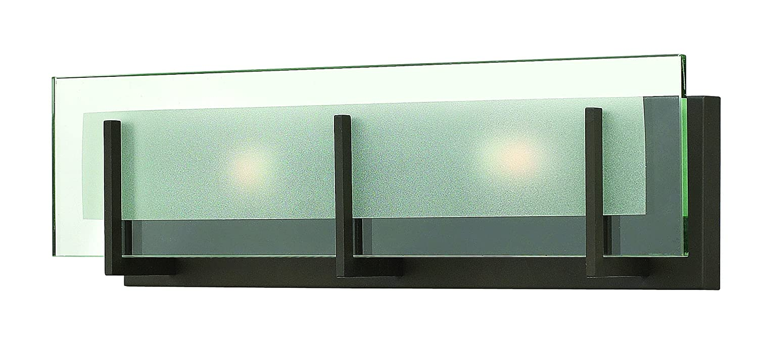 Hinkley 5652OZ Contemporary Modern Two Light Bath from Latitude ...