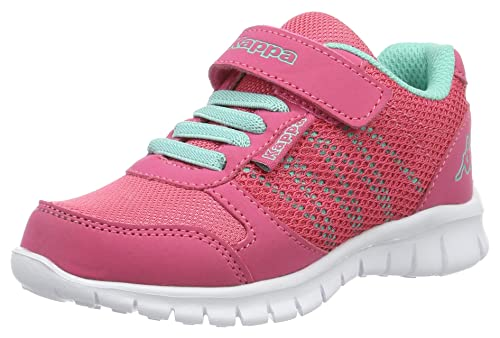 Kappa Stay, Zapatillas para Niñas, Rosa (Pink/Mint), 25 EU