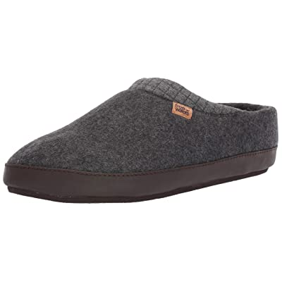 Freewaters Men's Jeffrey House Shoe Slipper W/Happy Arch Support and Durable Indoor/Outdoor Sole | Shoes