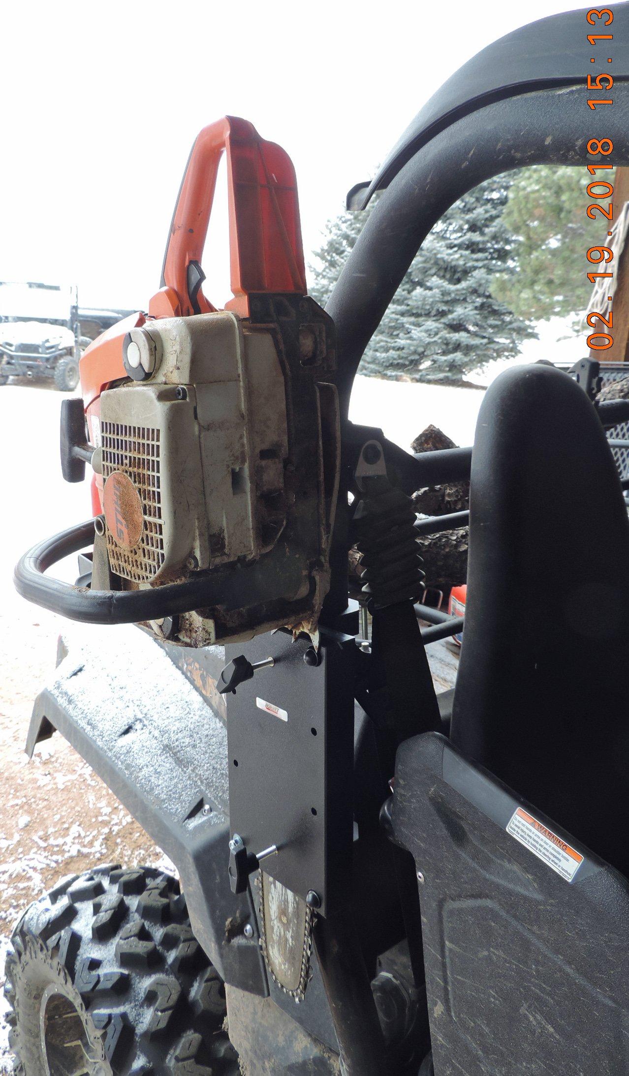 John Deere Gator Roll Bar Chainsaw Mount RCM-3012 by Hornet Outdoors (Image #2)