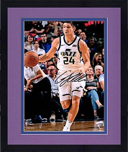 00168da84 Framed Grayson Allen Utah Jazz Autographed 8 quot  x 10 quot  White Dribble  Photograph - Fanatics
