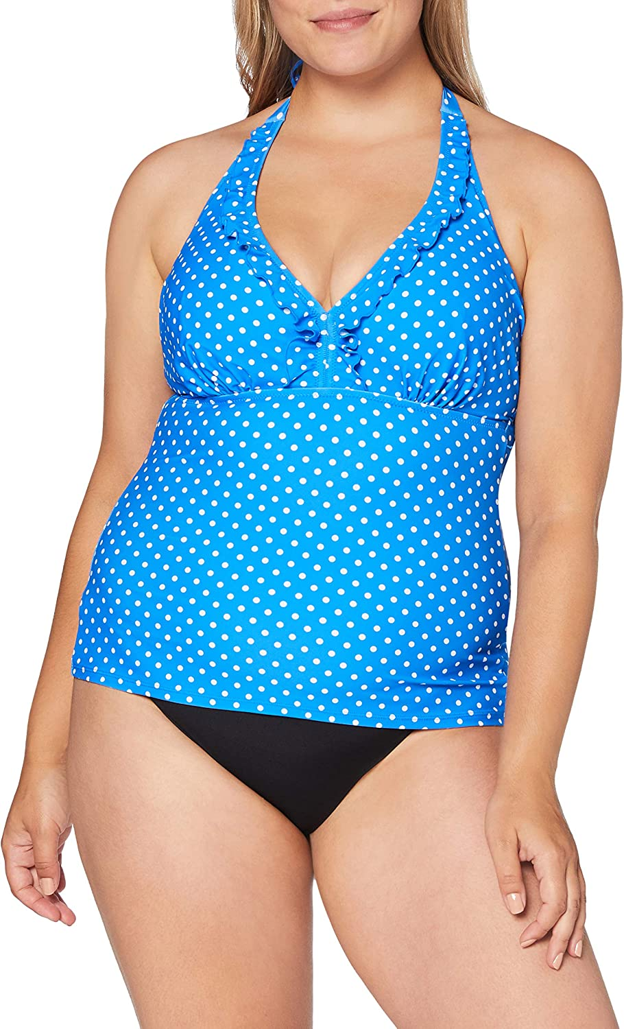 Pour Moi Hot Spots Underwired Tankini Top Donna