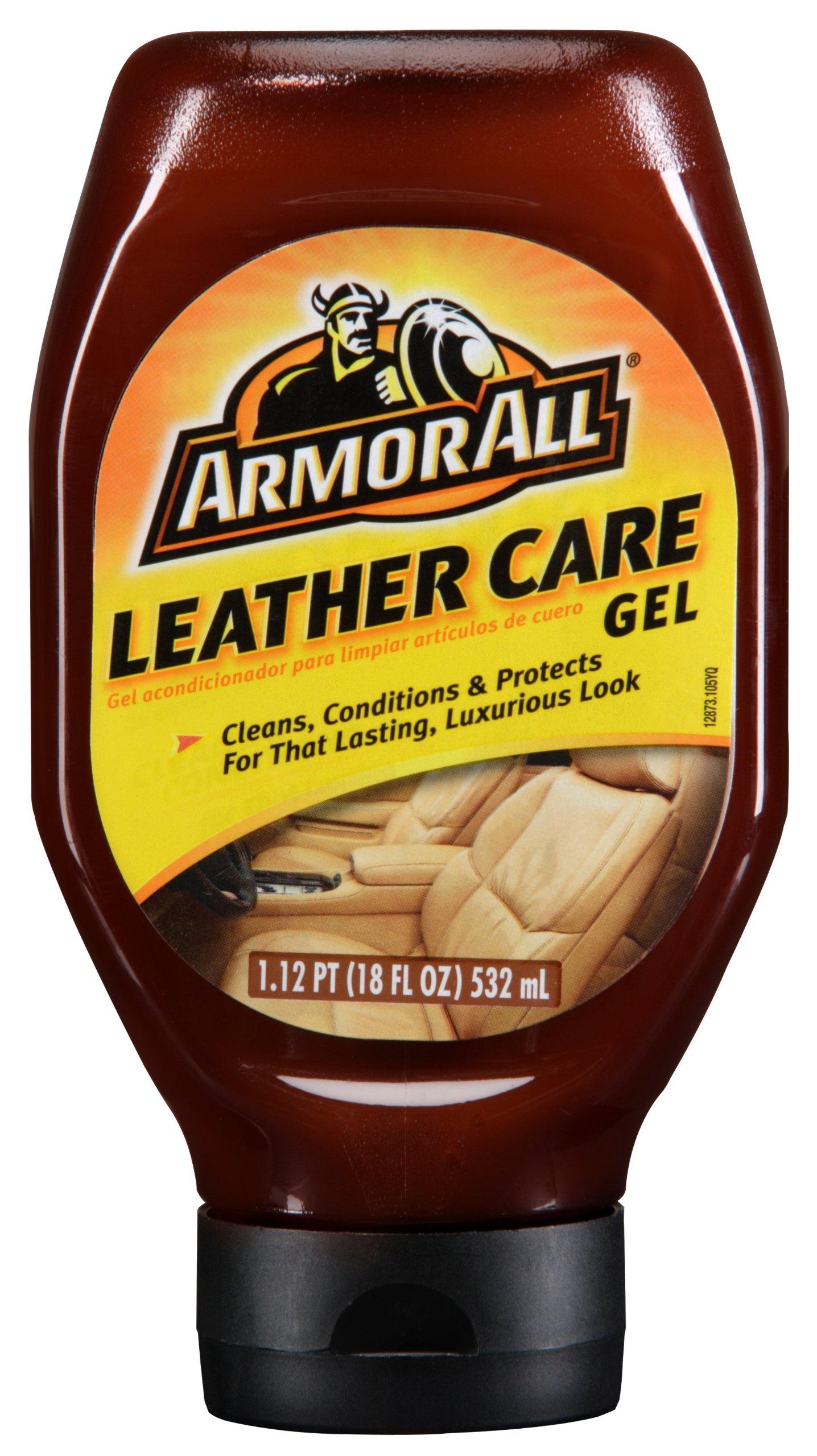 Armor All Leather Care Gel Fluid - 18 oz. Bottle, (Pack of 6)