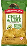 Garden of Eatin' Chili and Lime Tortilla Chips, 8.1 oz. (Pack of 12)