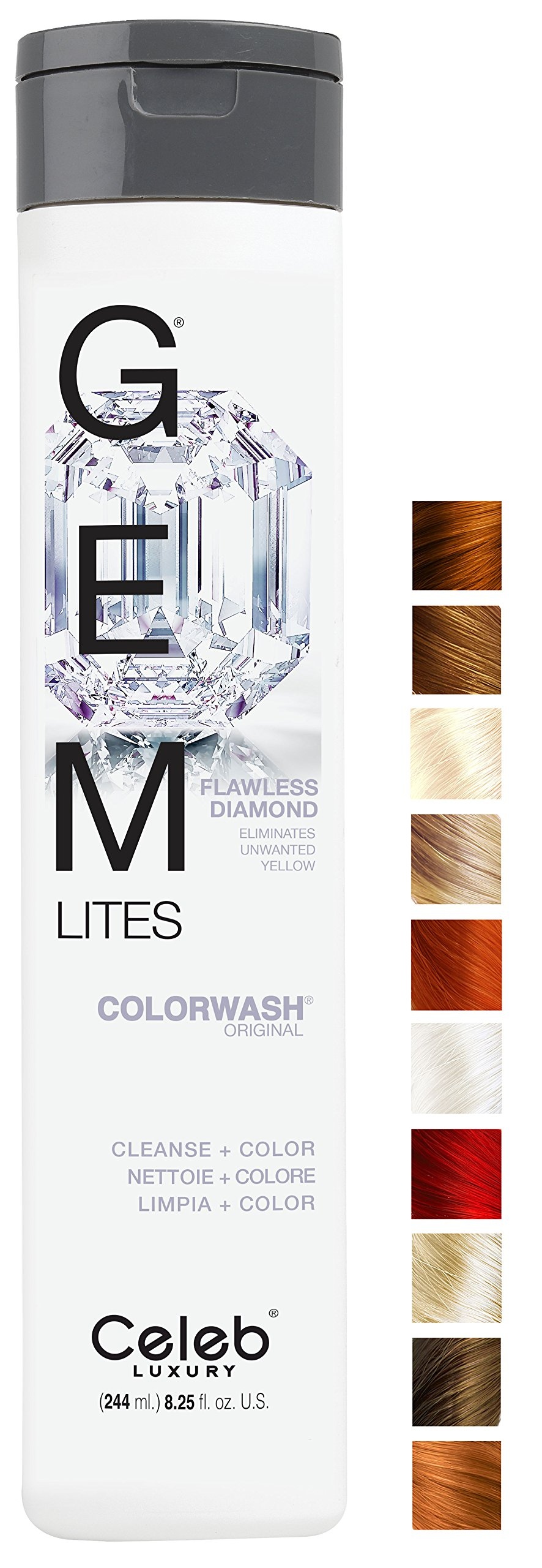 Gem Lites Flawless Diamond Colorwash, 8.25oz
