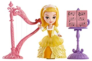 Disney Sofia The First Amber with Harp Doll Mattel BDK48