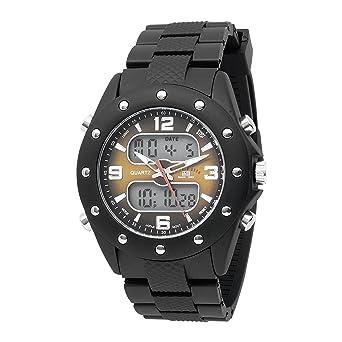 U.S.POLO ASSN. US9033 - Reloj de Pulsera Hombre, Caucho, Color ...